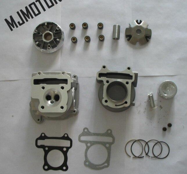 Kits de gran diámetro 80cc de alto rendimiento para 139QMA / B GY6 - Accesorios y repuestos para motocicletas - foto 2