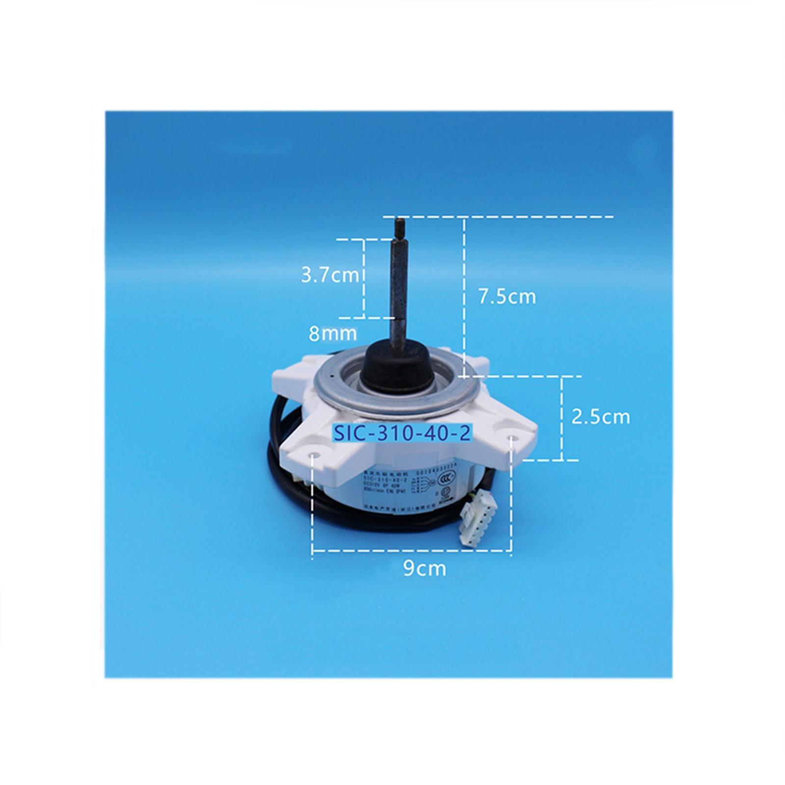 Motor de ventilador dc original, para panasonic motor de ar condicionado sem escova sic-310-40-2 40w 310v v v