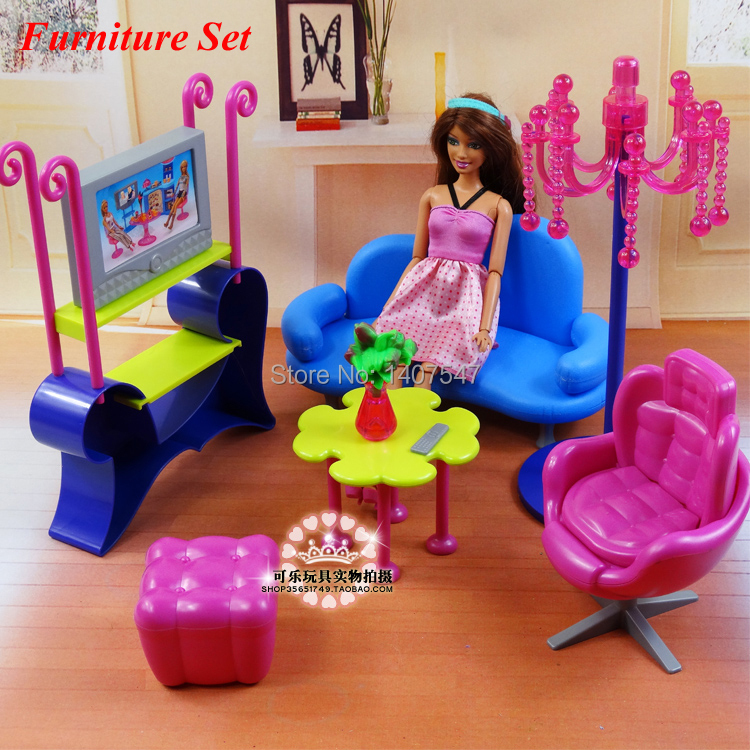 modern dollhouse furniture sets. 2015 New Doll House Furniture Accessories For Baby Modern Living Room TV Sofa Set Diy Miniature Furniture-in Dolls From Toys Dollhouse Sets