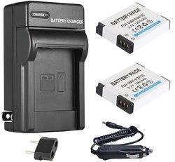 Akumulator litowo-jonowy (2 sztuki) + ładowarka do Panasonic DMW-BCM13  DMW-BCM13E  DMW-BCM13PP