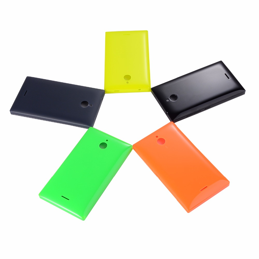 Original X2 Housing For Nokia X2 Dual SIM RM-1013 X2DS Back Case Battery Door Cover