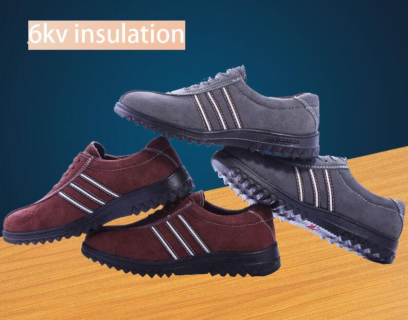 6kv chaussures isolées électricien chaussures spéciales chaussures de travail pour hommes