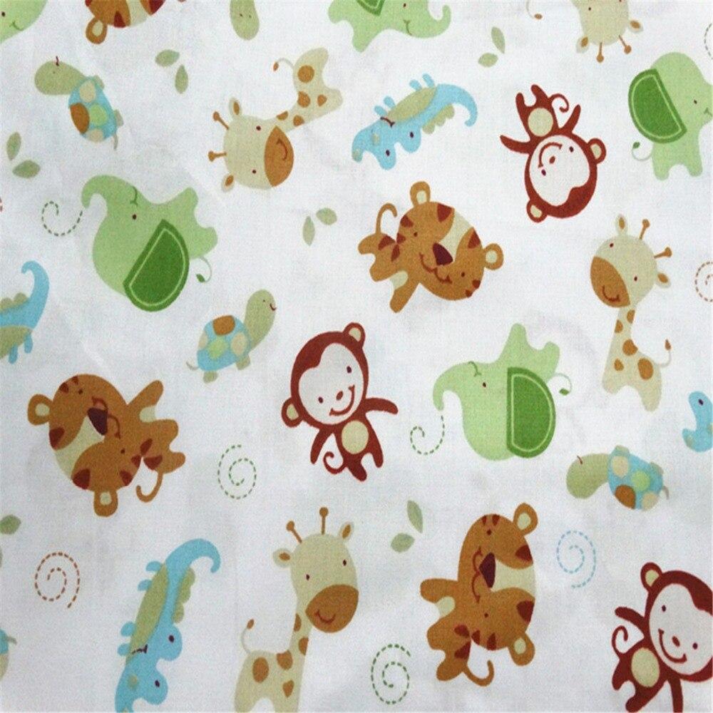 Monkey Dots բամբակյա գործվածքներ Patchwork - Արվեստ, արհեստ և կարի - Լուսանկար 4