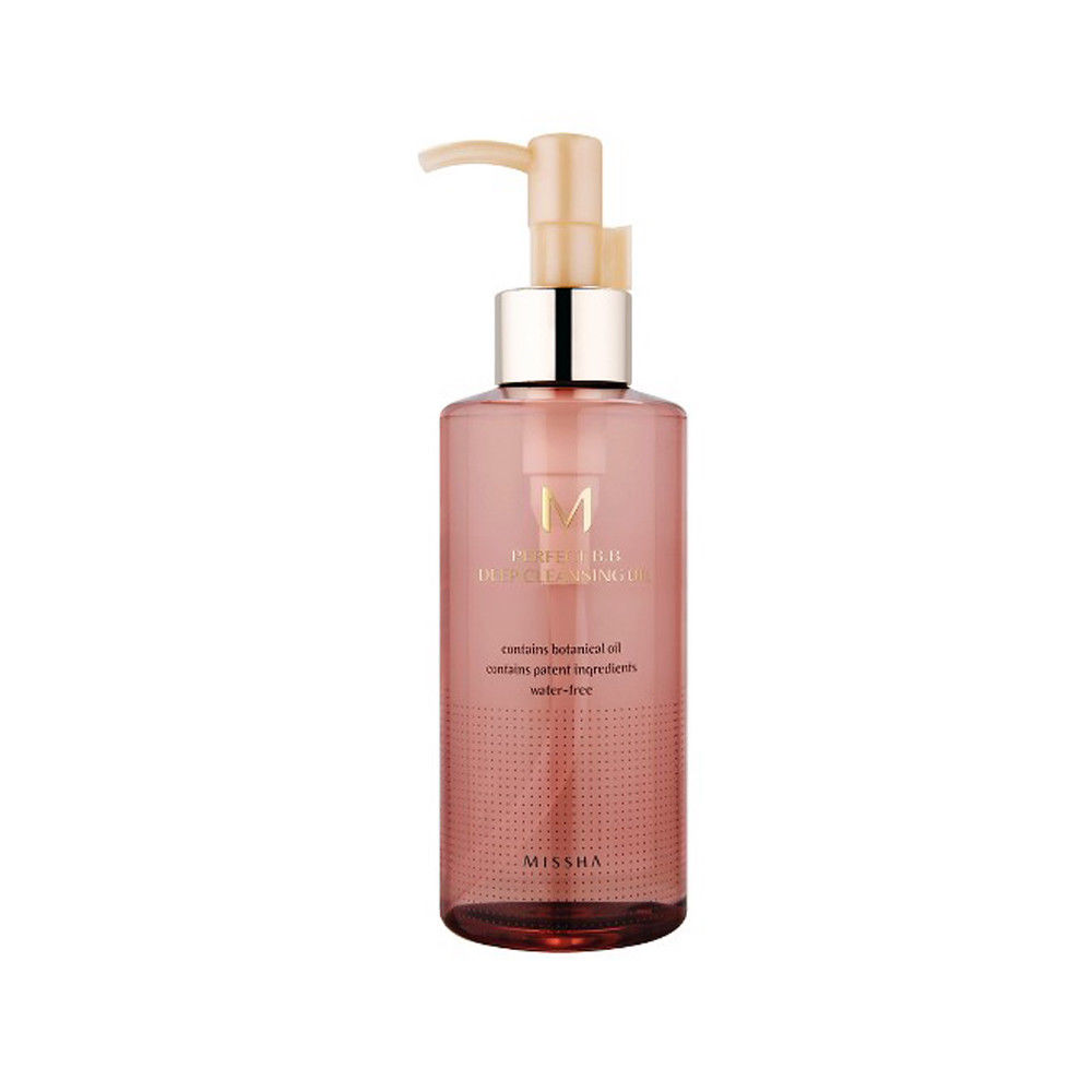 MISSHA M Perfect Deep Cleansing Oil 200ml Makeup Remover Deep Clean Facial Cleanser Face Skincare Shrink Pores Moisturizing