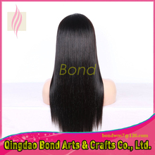 130% Density Natural Straight Full Lace Human Hair Wigs For Women 8A Brazilian Lace Front Wigs Bond Hair Products