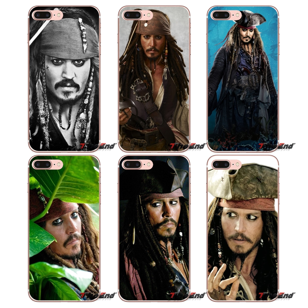 The Sparrow captain Jack TPU Silicone Case For Xiaomi Redmi 4 3 3S Pro Mi3 Mi4 Mi4i Mi4C Mi5 Mi5S Mi Max Note 2 3 4 Cover Coque