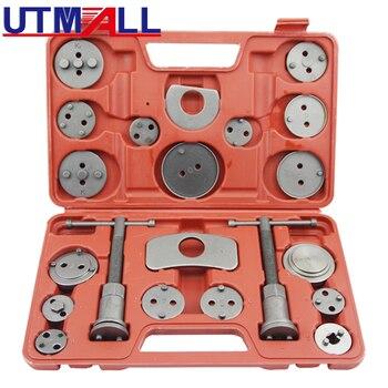 цена на 21PCS Piston Tool Brake Cylinder Set Disc Brake Caliper Universal Wind Rewind Tool For Most Cars Vehicles Sedans