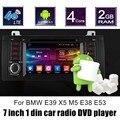 Android 6.0 Do GPS Do Carro de Rádio Para B/MW M5 E38 E39 X5 E53 DVD player De Vídeo WI-FI estéreo direção controle da roda