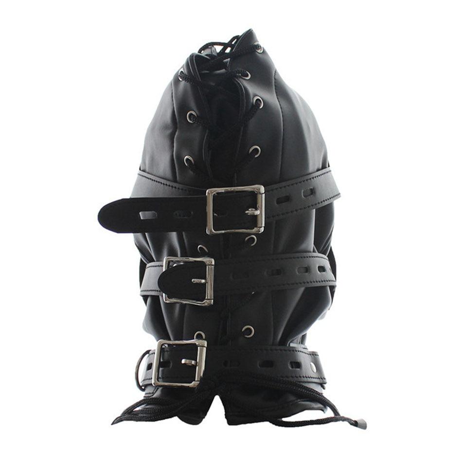 Leather bondage helmets — pic 9