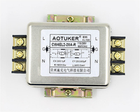 220VAC single phase EMI power filter CW4EL2 20A R CW4EL2 30A R schiene montage|Körperpflegegerät Teile|   -