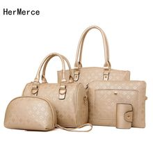 HerMerce Luxury Designer Handbags Women Bags Female Bag Leather Shoulder Bags Women Messenger Bag For Girls