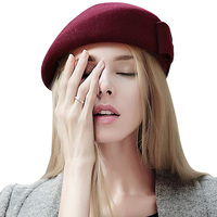 Top Quality Women Winter Wool Berets Female Cashmere Warm Hat Lady Felt Artist Boina Fashion Beret