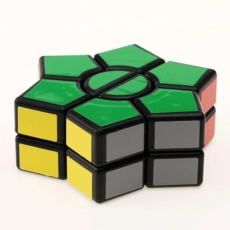 New Arrival 2-layers Super Square-1 Star Hexagonal Magic Cube David - ფაზლები - ფოტო 2