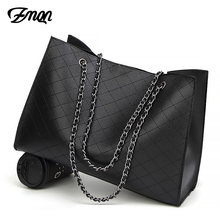 ZMQN Leather Bags For Women 2018 Luxury Handbags Women Bags Designer Big Tote Hand Bag Chain Leather Handbag Set Bolsa Feminina