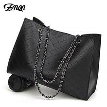 ZMQN deri çanta kadınlar için 2020 lüks çanta kadın çanta tasarımcısı büyük Tote el çantası zincir deri çanta seti Bolsa Feminina