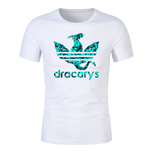 Dracarys tshirt Brand shirt Game Of Thrones t harajuku Vintage T Camiseta hombre Tshirt Men Women