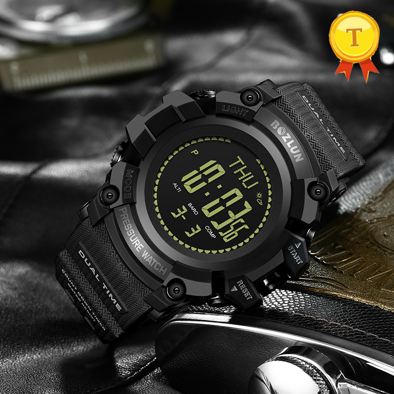 все цены на Smart Watch Men Sport Military Wrist Watch Digital LED Watches g shock Electronic Waterproof Stopwatch Mens Fitness Pedometer