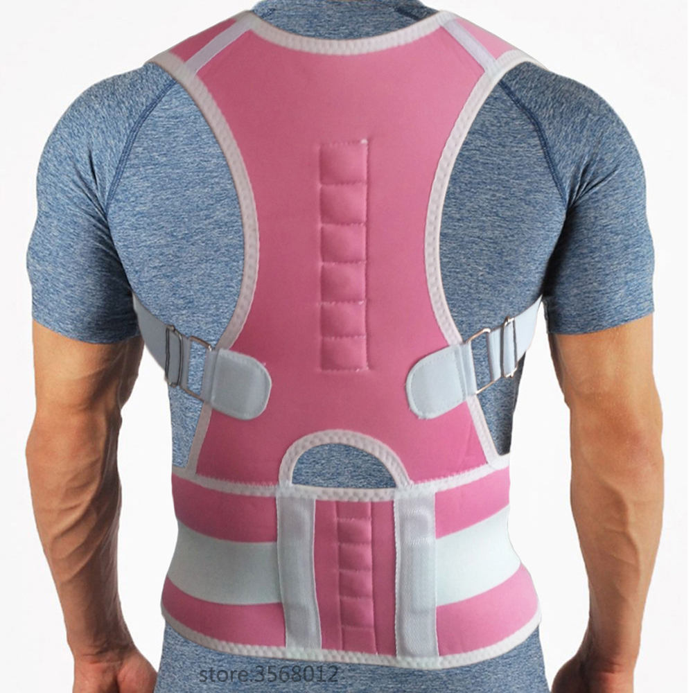 Profesional Adjustable Magnetic Back Chest Support Belt Posture Corrector Shoulder Brace Tape Posture Correct Orthotics Corset