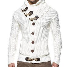 LITTHING 2019 hombres Cardigan hombres suéter con cuello en V de Slim tejer suéteres  hombre moda Casual Tops Venta caliente Z25 37f1b8577cbd