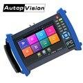 IPC8600 más 7 pulgadas CCTV tester Monitor H.265 4 K IP Cámara probador soporte 5MP AHD 8MP TVI CVI 1080 P hd sdi cvbs TDR cable Tracer