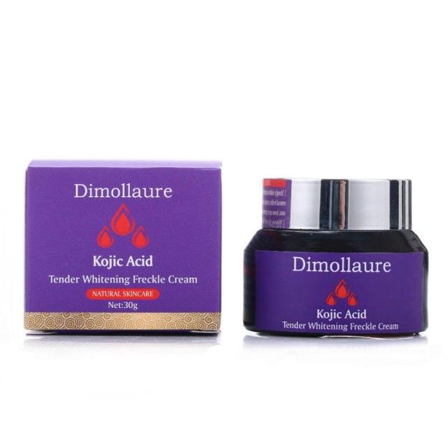 Dimollaure kojic acid whitening cream Retinol Vitamin peptides Argireline serum Remove Freckle melasma pigment Melanin dark Spot 4