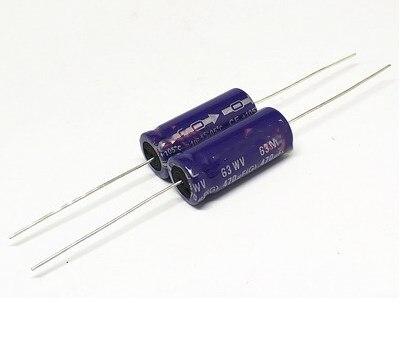 30Pcs Nichicon VX Series 47uF//25V Electrolytic Capacitor