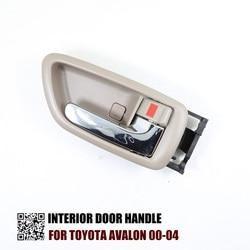 1 PC wnętrze klamka do drzwi dla TOYOTA AVALON 2000 2004 R: 69205 AC010 L: 69206 AC010|Klamki do drzwi zewnętrznych|Samochody i motocykle -
