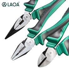 LAOA cr ni pinces pinces latérales de qualité industrielle japon Stype câble coupe fil pince à Long nez pince diagonale pince Multitool