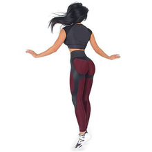 New Women Leggings Fitness Adventure Time Patchwork Thick Legging High Elastic Workout Leggings Sporting Pants