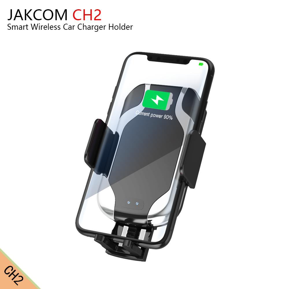 JAKCOM CH2 Smart Wireless Car Charger Holder Hot sale in Chargers as soshine power bank circuit liitokala lii 500