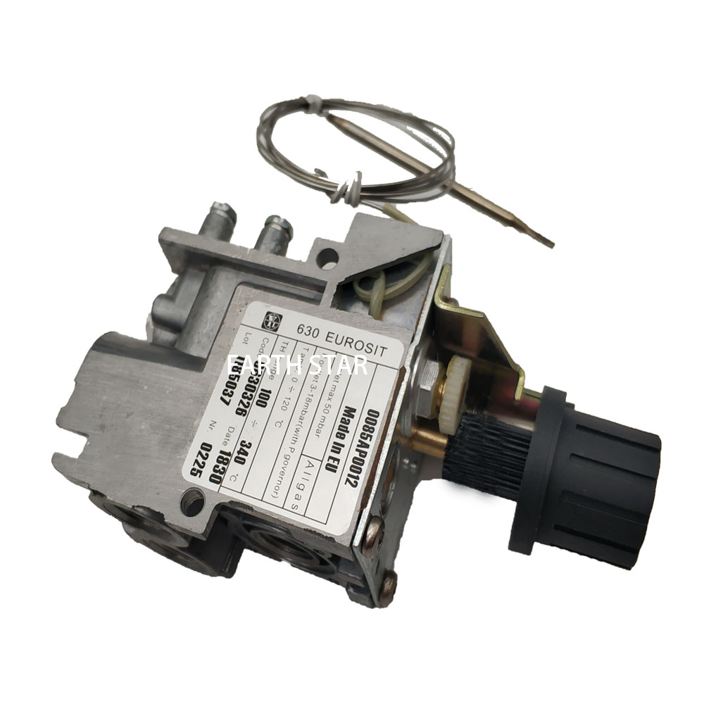 Earth Star Model 630 Minisit Gas Fryer Replacement Spare Parts Thermostat Control Valve 100-340 Degree Lpg Thermostaic Valves