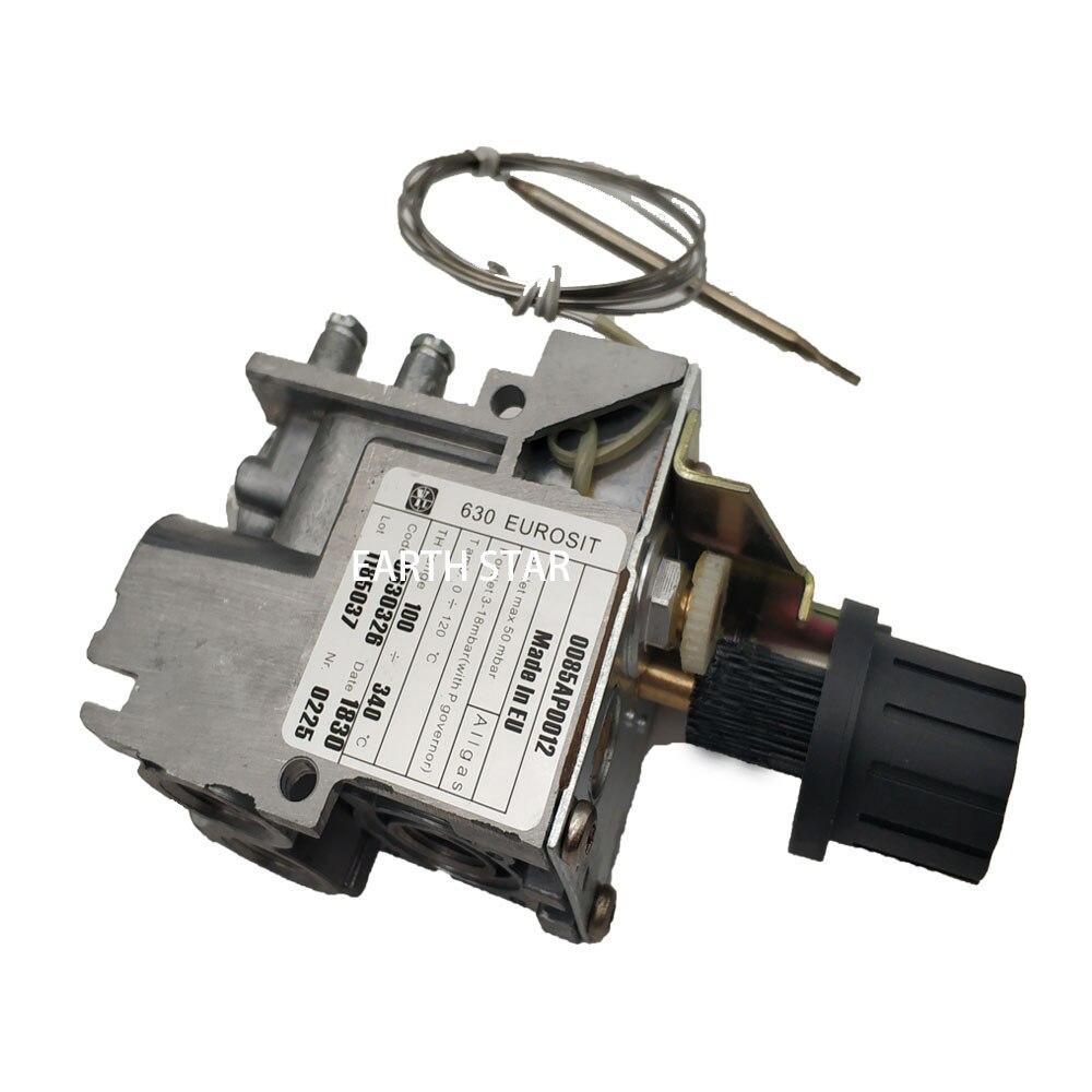 Earth Star modèle 630 minisit gaz friteuse remplacement pièces de rechange thermostat vanne de contrôle 100-340 degrés lpg vannes thermostatiques