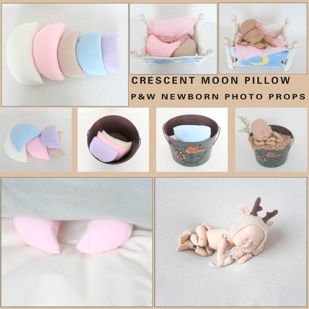 Newborn Posing Pillow Soft Touch Posing Cushions Pillow For Newborn Photography Props 5pcs Ban Bag Baby Photo Props