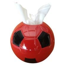 BF040 Fashion Creative football paper towel tissue box napkin 17*10*17cm