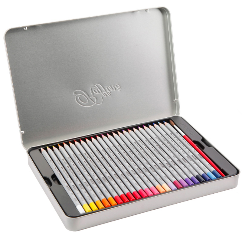 Marco Raffine Fine Art colored pencils 24 36 48 Colors Drawing Sketches Mitsubishi Colour Pencil School Supplies Painting