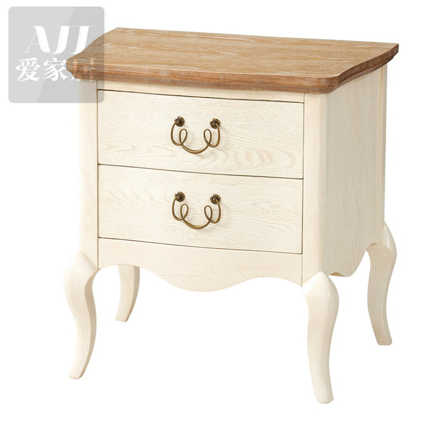 Envío gratis muebles de dormitorio romántico de lado de la cama mesa ...