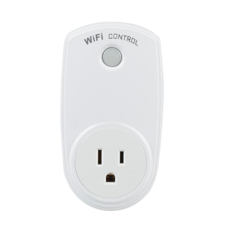 US Standard WiFi Smart Plug Smart Home Socket EWeLink App Control Home Appliances Work with Amazon Alexa Google Home AC 90-260V wifi smart socket 3 ac outlets 2 scheduling charger work with amazon alexa wifi timing us plug power strip app remote control