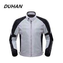 Духан Мужская профессиональный мотогонок Защитная броня куртки сетки материал Moto Racing куртка пять протектор гвардии