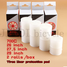 2 Rolls Bicycle Tires liner Protection Pad 26 / 27.5 / 29 / 700C MTB Tires liner Puncture Proof Bicycle Practical Accessories bicycle bearbike barcelona 700c 1 ic height 580mm 2018 2019