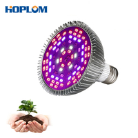 50W Full Spectrum LED Grow Light Red+Blue+UV+IR AC85~265V Led Plant Lamps For Hydroponics Vegetables and Flowering Plants