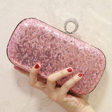 Sparkling Sequins Ladies Wedding Clutch Bags Fashion Women Gold Silver Evening Bag Party Envelope Wallet Tote
