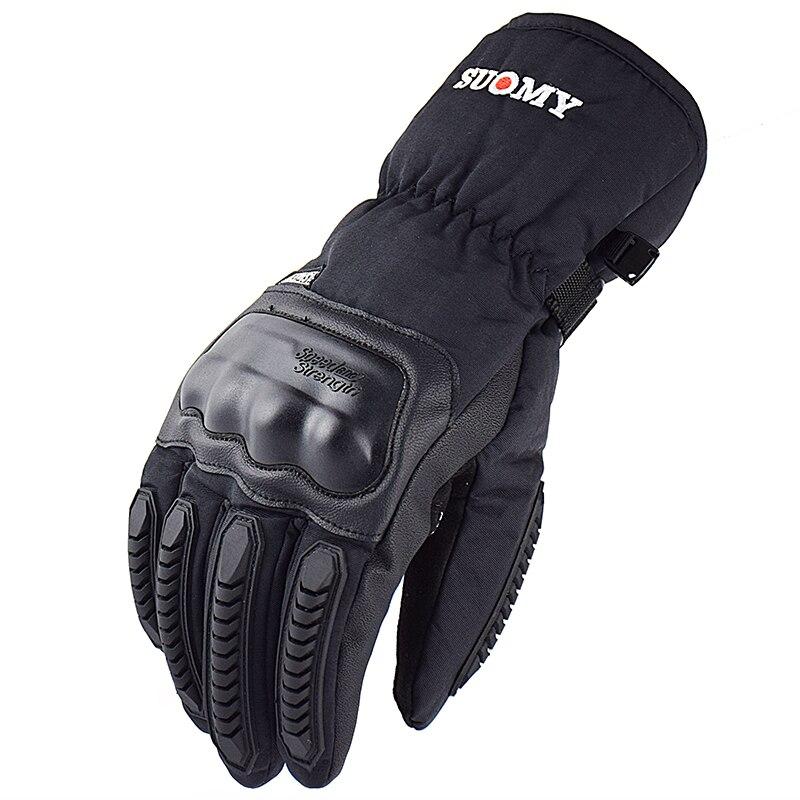 SUOMY moto rcycle handschuhe 100% Wasserdicht winddicht Winter warm Guantes moto Luvas Touchscreen moto siklet Eldiveni Schutzhülle