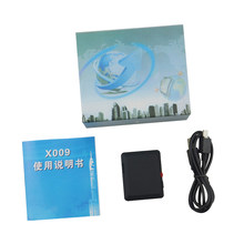 Mini GSM Tracker X009 with Camera Monitor Audio Video Record Real Time Tracking and Listening LBS Locator X009 with SOS Button(China)