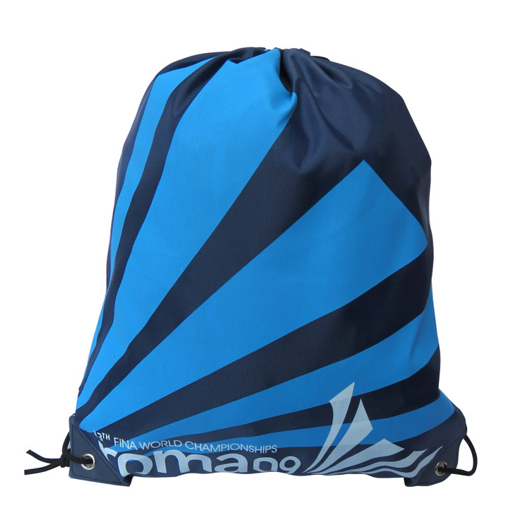 Waterproof Swimming Backpack Double Layer Drawstring Backpack Shoes Bag Shoulder Bag Outdoor Sport Travel Portable Bag 34*42 Cm