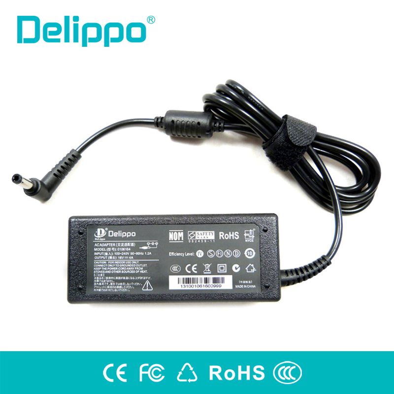 DELIPPO Original <font><b>16V</b></font> 4A Laptop <font><b>AC</b></font> <font><b>Adapter</b></font> charger For lenovo IBM R31 T43 T42 T40 T41 T30 T23 Notebook Power Charger 64W image