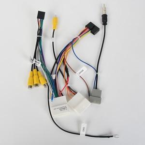 Image 2 - Автомобильный Радио аудио жгут проводов адаптер для Nissan Qashqai 2008 2012 поддержка заводской камеры Bose усилитель только для Dasaita DYX028