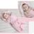 Otoño Invierno Recién Nacido Bebé Recibir Mantas de Cachemir Súper Suave Saco de Dormir Del Bebé Sleepsacks Espesar Cálido Bebé Swaddleme AB190