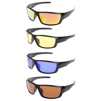 Przeciwsłoneczne okulary wędkarskie spolaryzowane na zewnątrz rybacki słońce okulary okulary sportowe okulary UV400 dla mężczyzn jazda na rowerze okulary okulary wędkarskie tanie i dobre opinie OOTDTY CN (pochodzenie) Outdoor Glasses Spolaryzowane okulary Plastic Resin Polarized Blue Gold Yellow Brown One Size Width 13 2cm(5 20in)