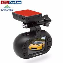 Conkim Dash Cam DVR Voiture Enregistreur Ambarella A7 OV4689 GPS Greffier 1296 P Auto Caméra + CPL/Dur Fil kit En Option MINI 0903 Plus