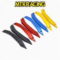 MTKRACING Motorcycle Windshield Deflectors Protectors Adjustable Lockable bracket set For Yamaha X MAX 125/250/300 XMAX